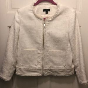 Ann Taylor Ivory Jacket